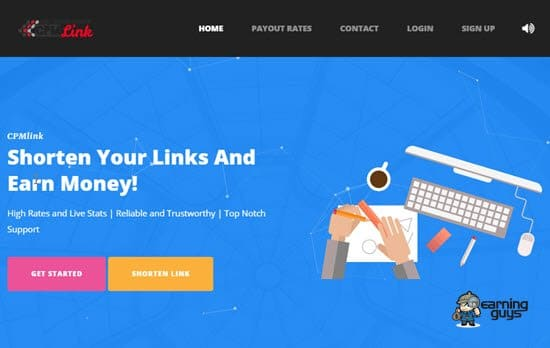 CPMlink Shrink URL to Earn Money Online