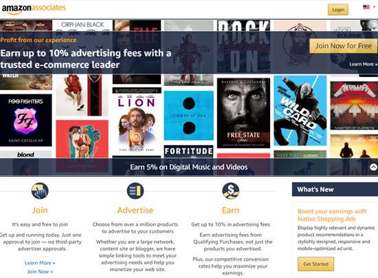 Amazon Associates Affiliate Programs