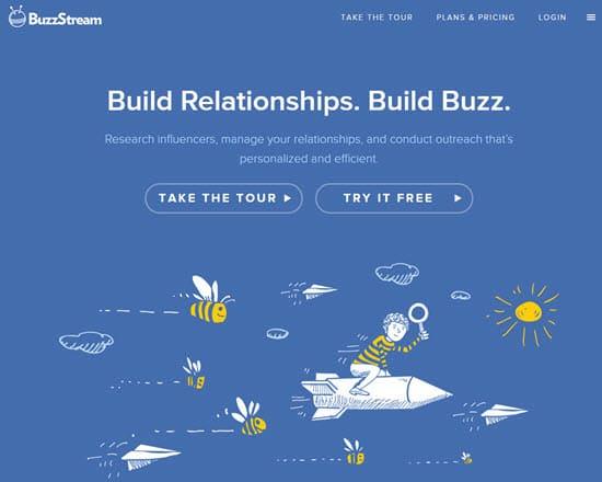 BuzzStream Influencer Marketing Tool