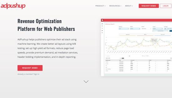 AdPushup Publishers Ad Network