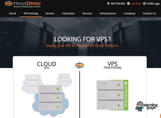 HostDime Windows VPS Hosting