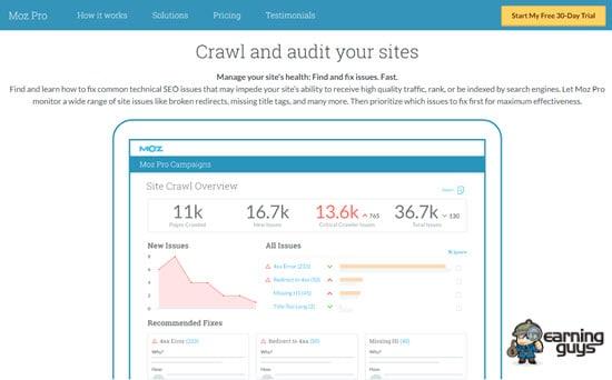 Moz Website Auditor