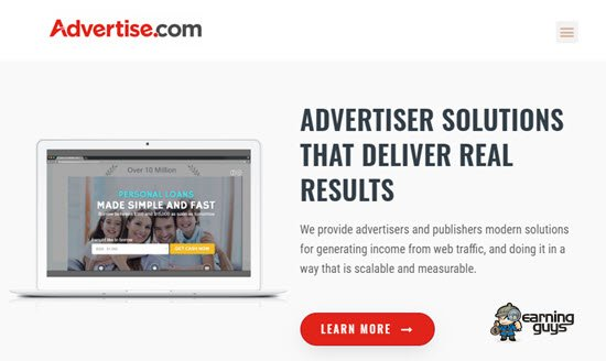 Advertise.com PPC Ad Network