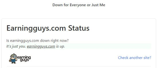 Site Down For Everyone or Just Me