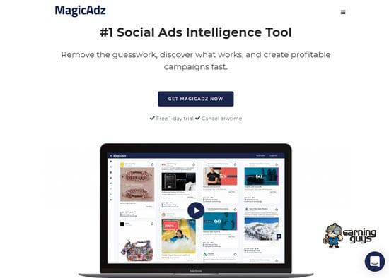 MagicAdz Social Ad Spy
