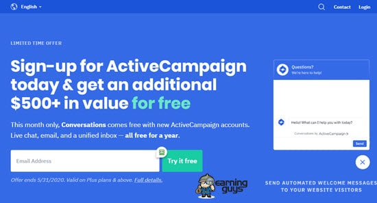 ActiveCampaign Single Opt-In Email