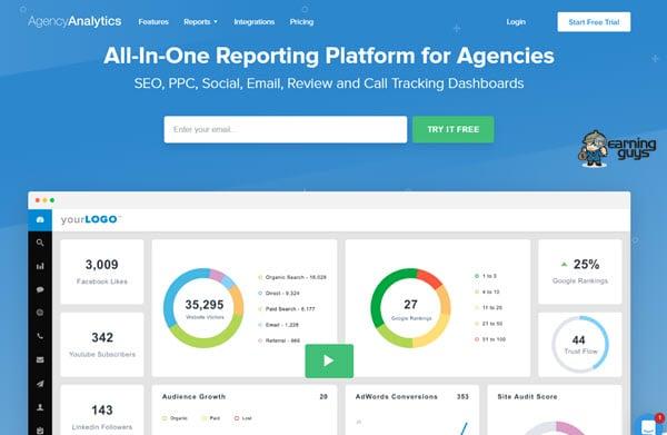 Agency Analytics Software