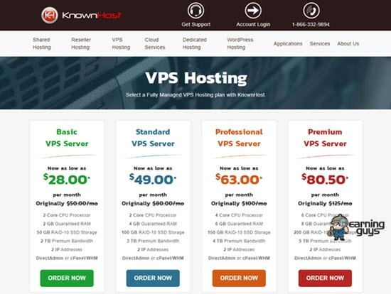 KnownHost VPS Hosting