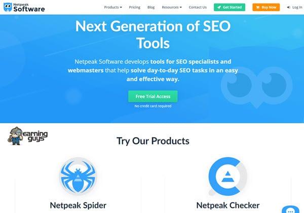 Netpeak Software SEO Software