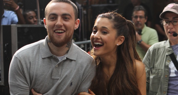 Image result for Ariana Grande and Mac Miller 2016