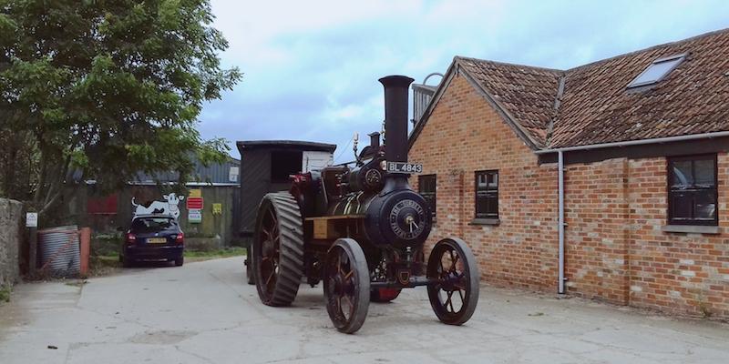 Traction Steam Engine