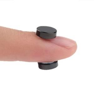Stainless Steel Circle Magnetic Clip Stud Earrings