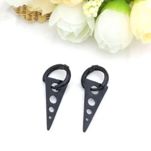 BTS Triangle Titanium Men Earring