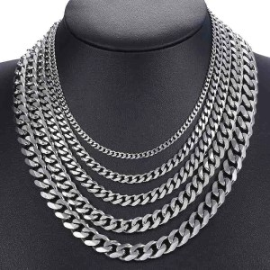 Stainless Steel Mens Necklace Chains