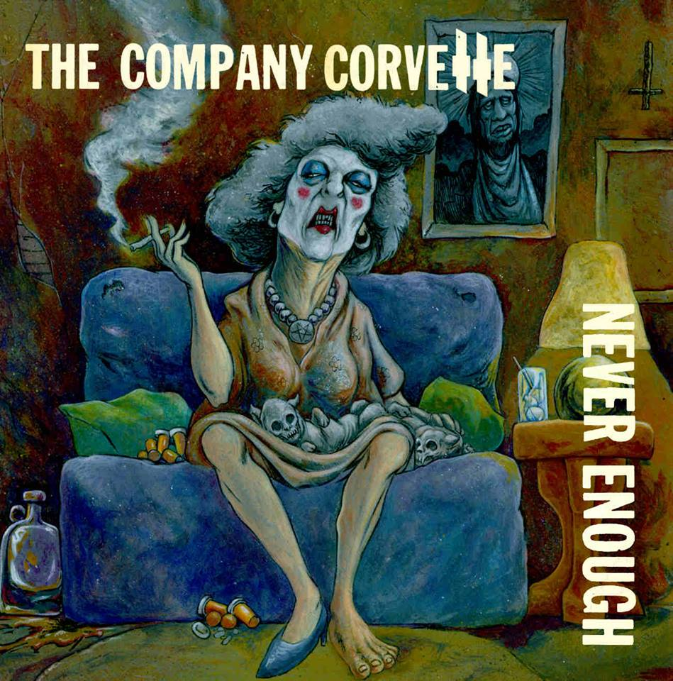 The Company Corvette - cover
