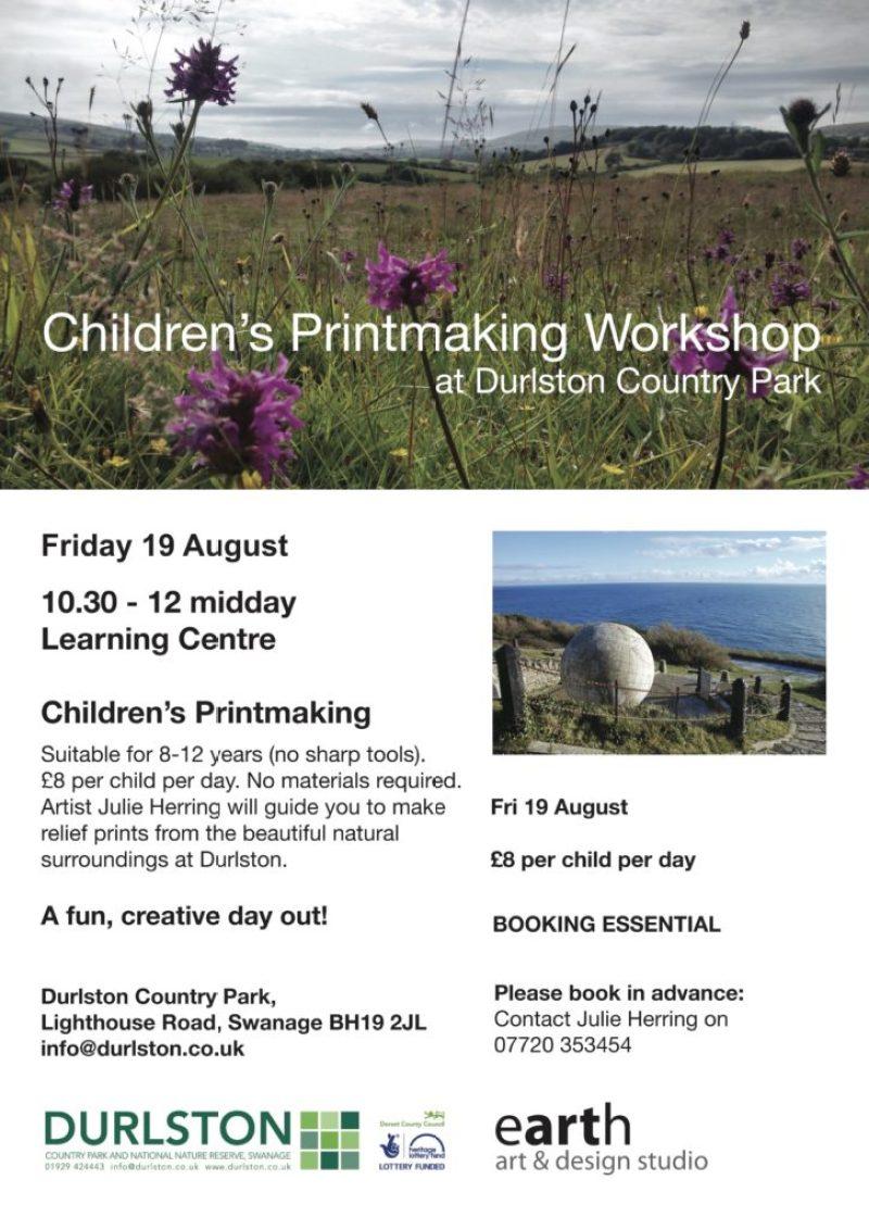 Durlston Print Workshop Aug