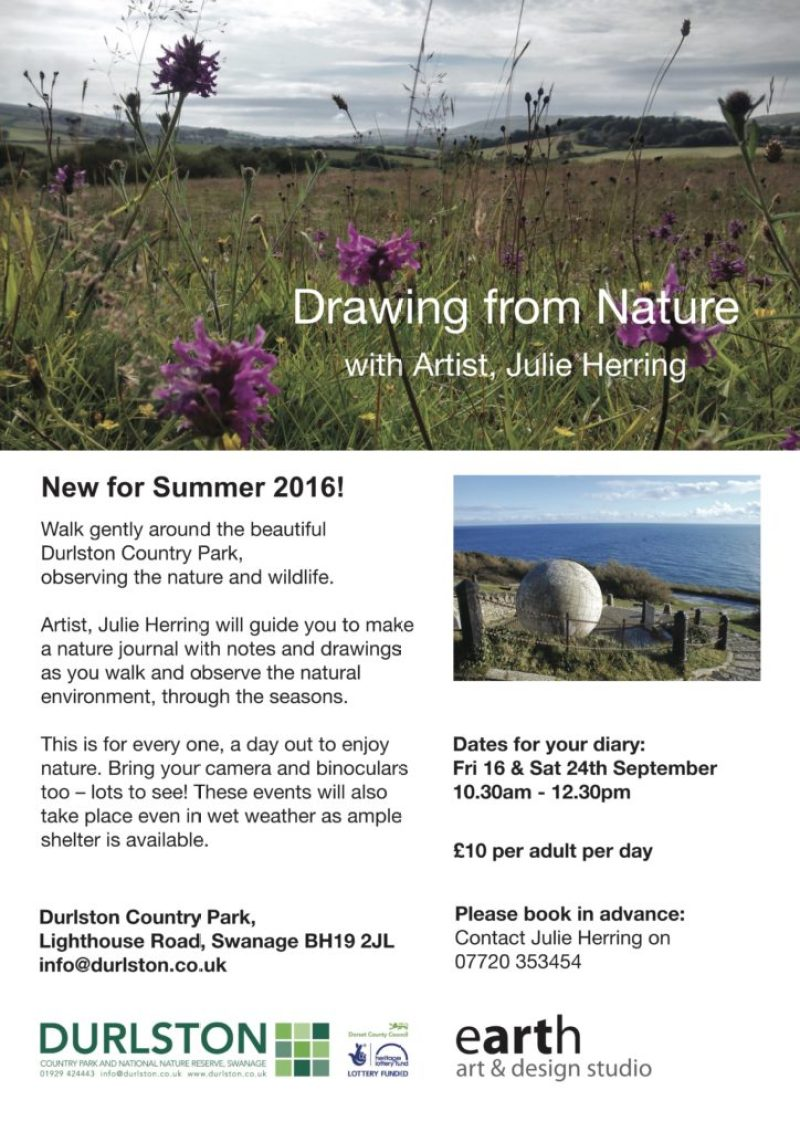 Durlston walk poster 2016