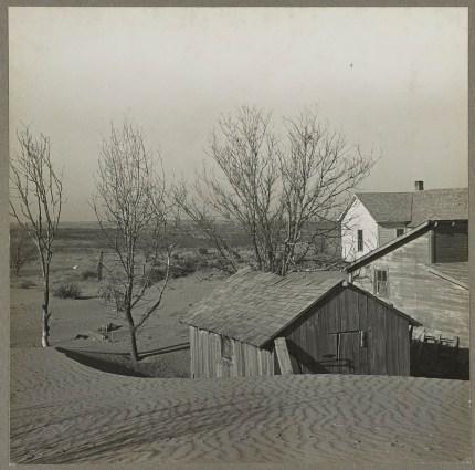 Liberal Kansas Dunes, 1936