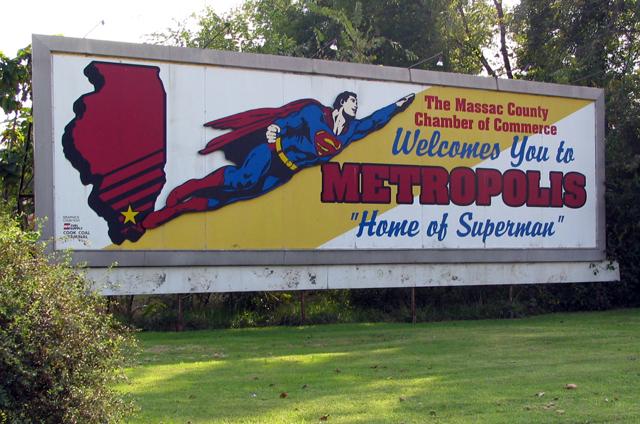 Metropolis billboard