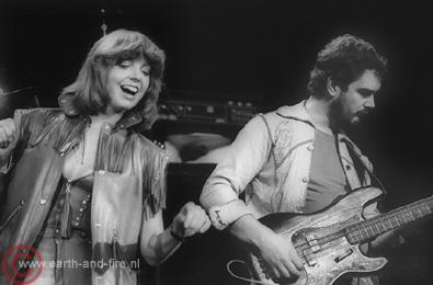 Earth & Fire ( Bert & Jerney ) 29-11-1979 Foto Rob Verhorst ( RD)