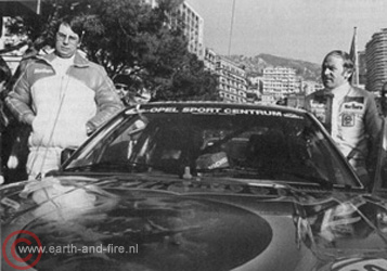 Opelteam Rallye Monte Carlo
