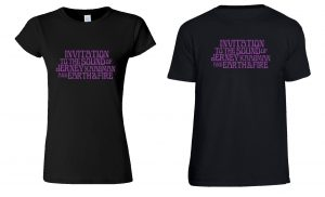 Shirts Invitation to the Sound of Jerney Kaagman and Earth&Fire