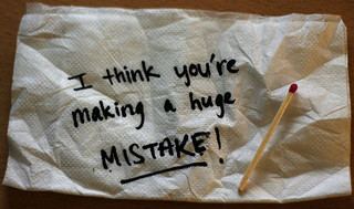 Mistake | Source: doobybrain on Flickr
