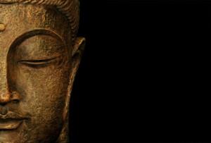 buddha and dark