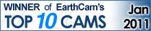 EarthCam Top 10 Winner Jan/2012