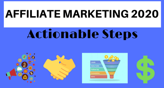 start affiliate marketing 2020