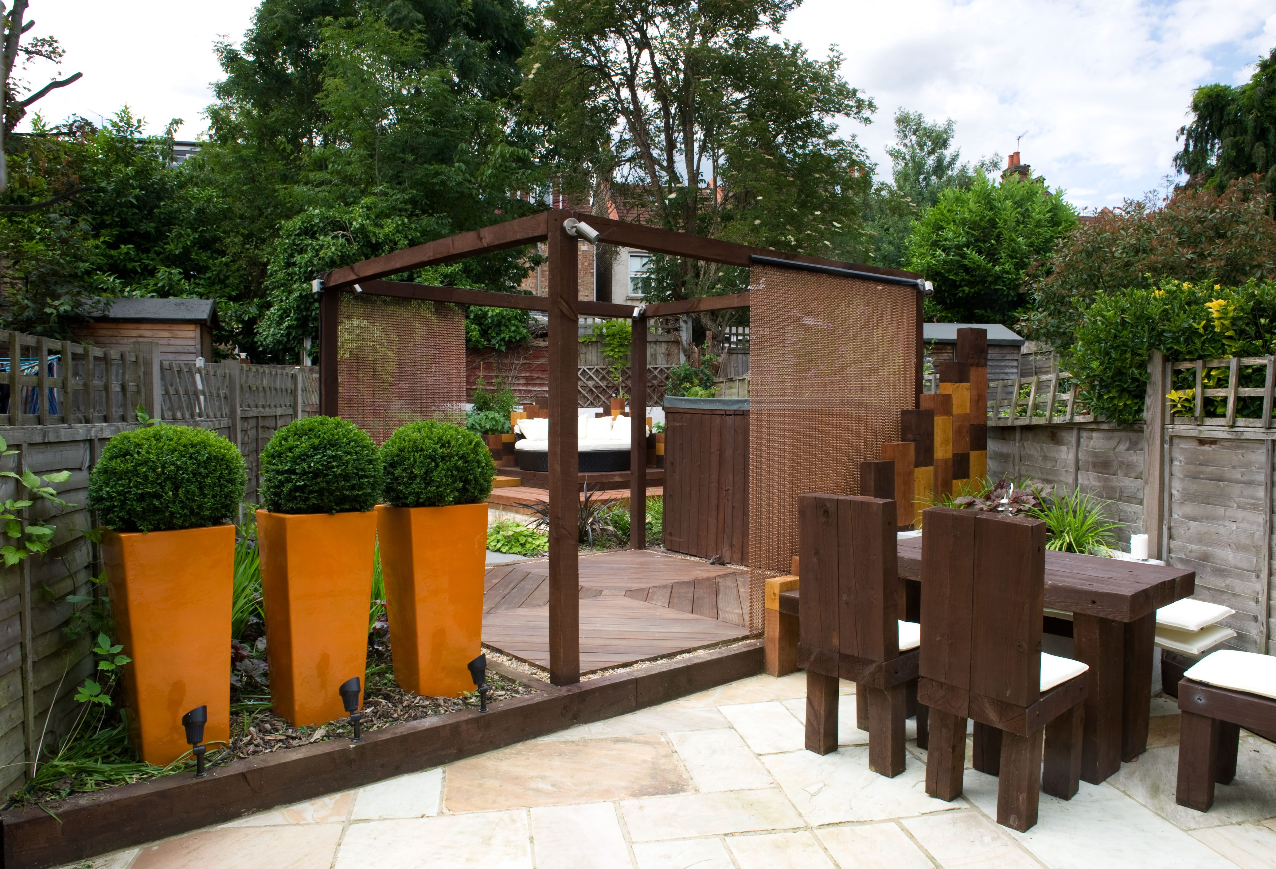 Big garden ideas, Small garden design space? - Creating ... on Landscape Garden Designs For Small Gardens id=39940