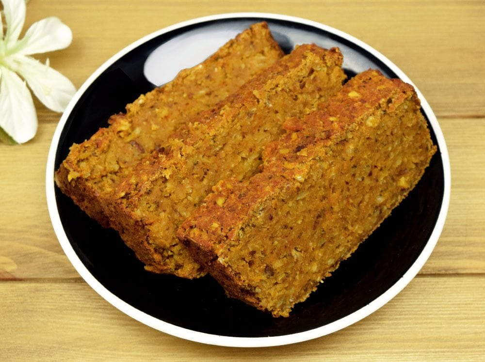 Easy Red Lentil Loaf Recipe [Vegan and Gluten Free]