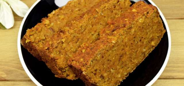 Easy Lentil Loaf Recipe