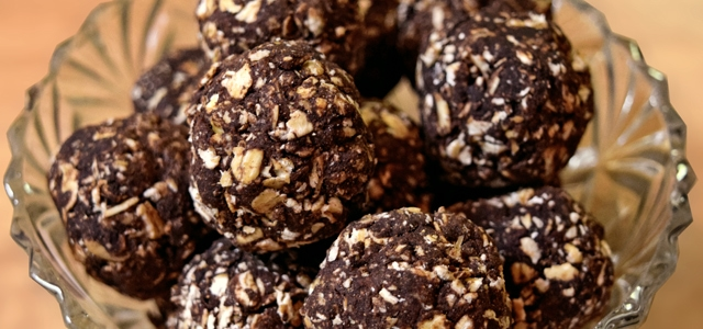 Chocolate Biscuit Power Balls Vegan Recipe
