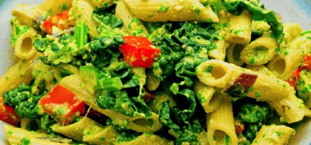 Vegan Pesto Pasta Recipe
