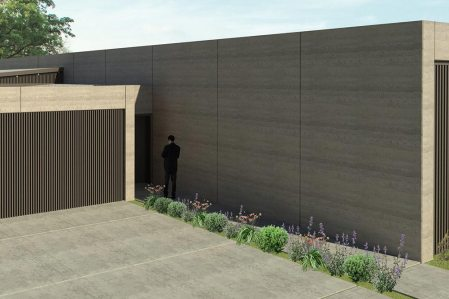 The Linear - EarthHouse designs and builds rammed earth houses and homes in Melbourne and the Mornington Peninsula