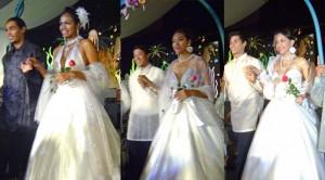 White Sagala Gown By Jun Jun Cambe