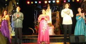 Enchanted Kingdom Execs In Jun Jun Cambe Gowns