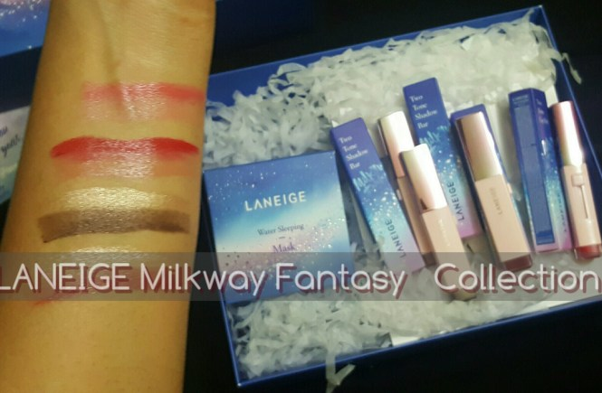 LANEIGE Milkway Fantasy Makeup Collection