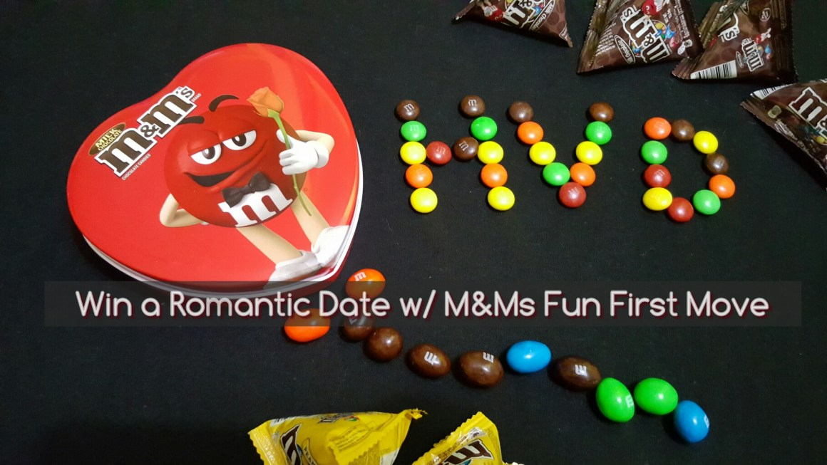 Does It Matter Who Does the First Move + Win A Romantic Date with M&Ms Fun First Move Project + Winner Update