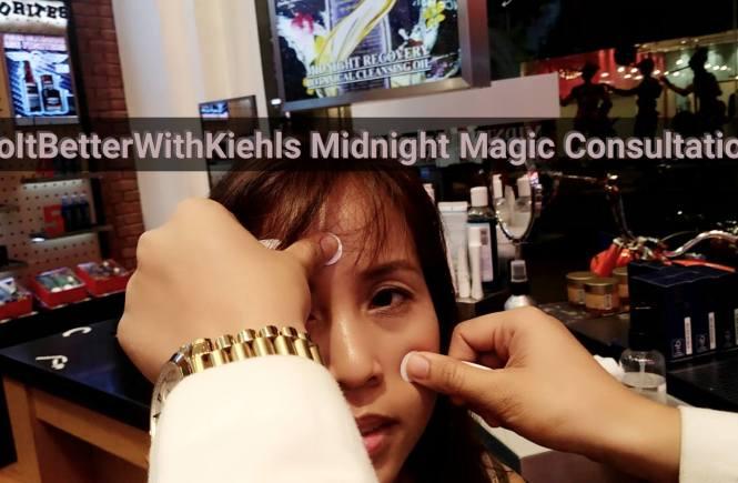 #doitbetterwithkiehls midnight magic consultation