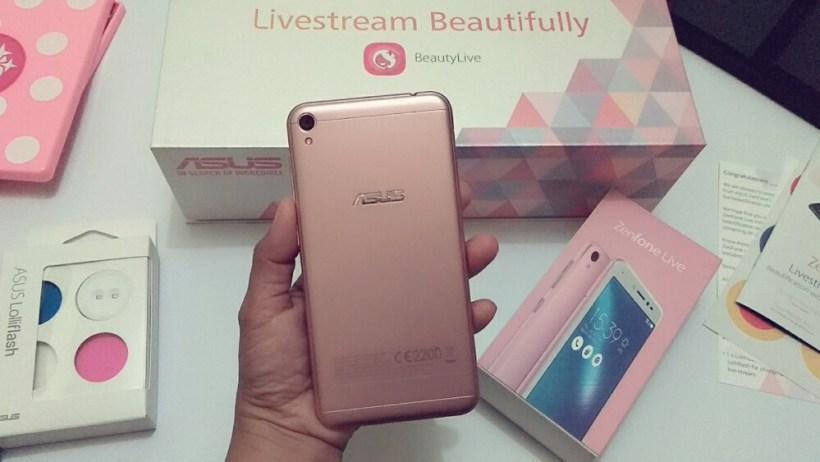 ASUS Zenfone Live ASUS BeautyLive Kit