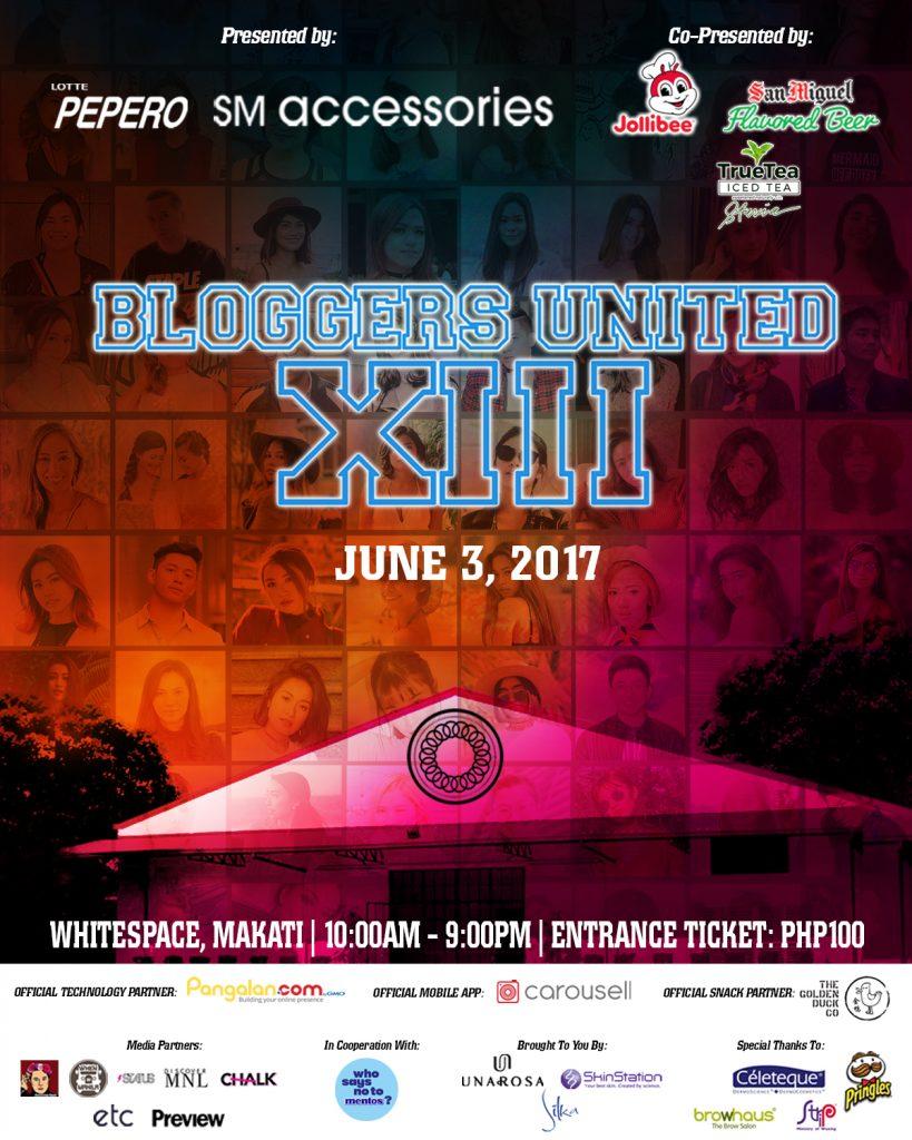 Bloggers United 13 #BU13!
