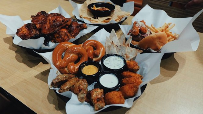Wings and More at Buffalo Wild Wings