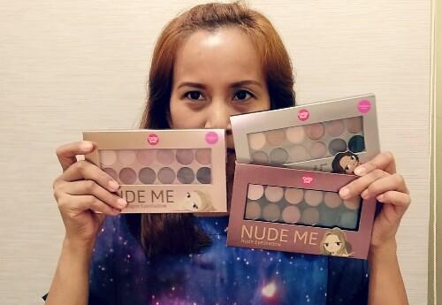 Cathy Doll Nude Me Eyeshadow