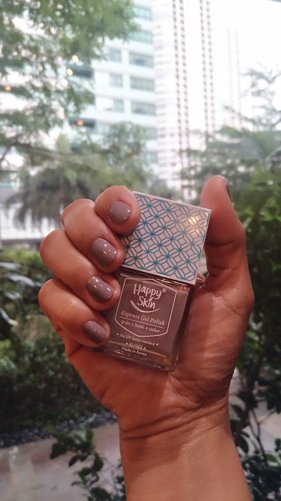 Happy Skin Express Gel Polish 2-in-1 Base + Color #HappySkinGelYeah