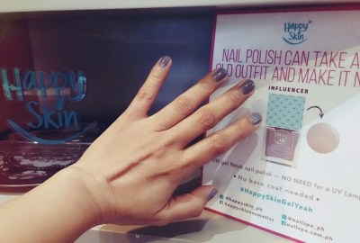 Happy Skin Express Gel Polish 2-in-1 Base + Color #HappySkinGelYeah