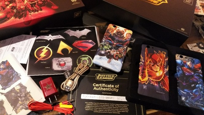 World's First Justice League Smartphone