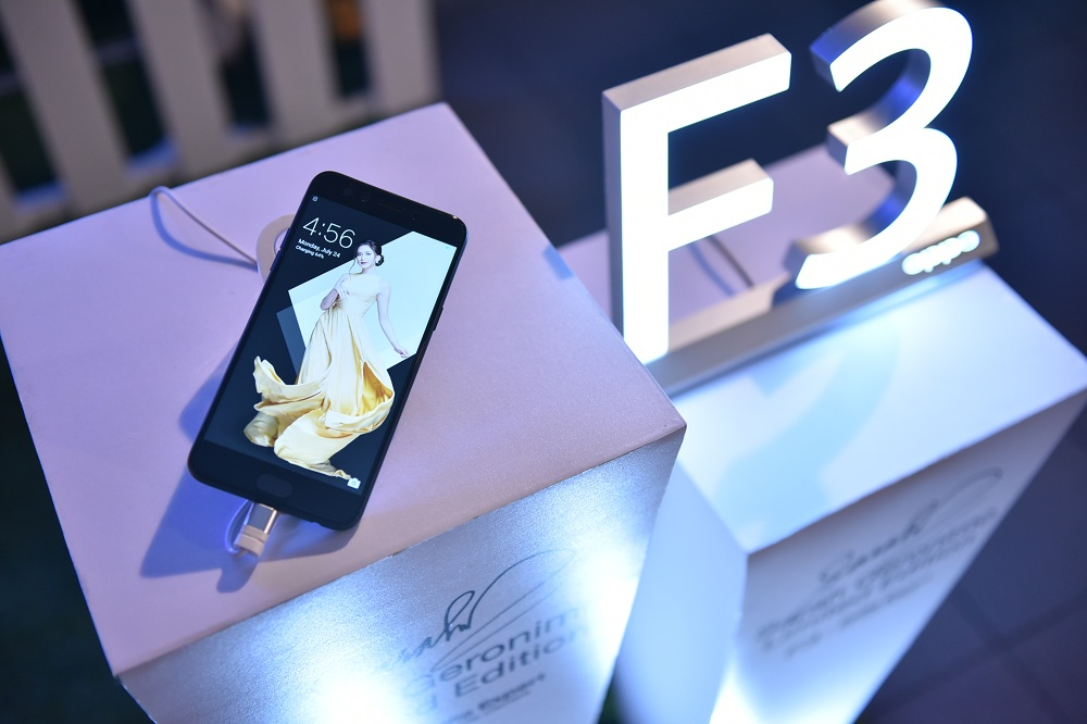 Oppo Sarah Geronimo Limited Edition F3 Smartphone
