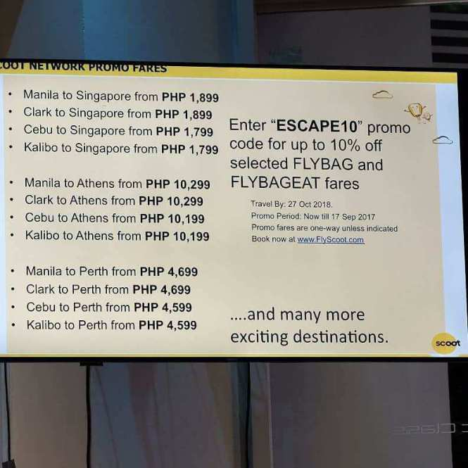 Scoot in Manila Scoot to Athens #flyscoot #scootinManila